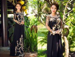 Cách chọn áo dài cho mẹ cô dâu hợp nhất