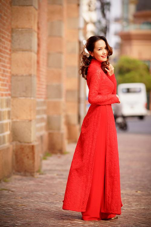 Cách chọn áo dài đẹp cho cô dâu