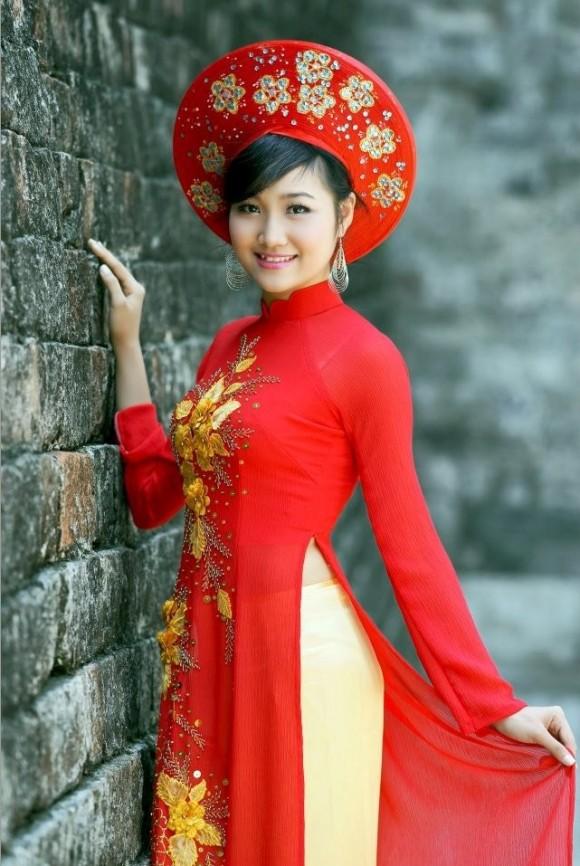 cách chọn áo dài cô dâu đẹp và phù hợp