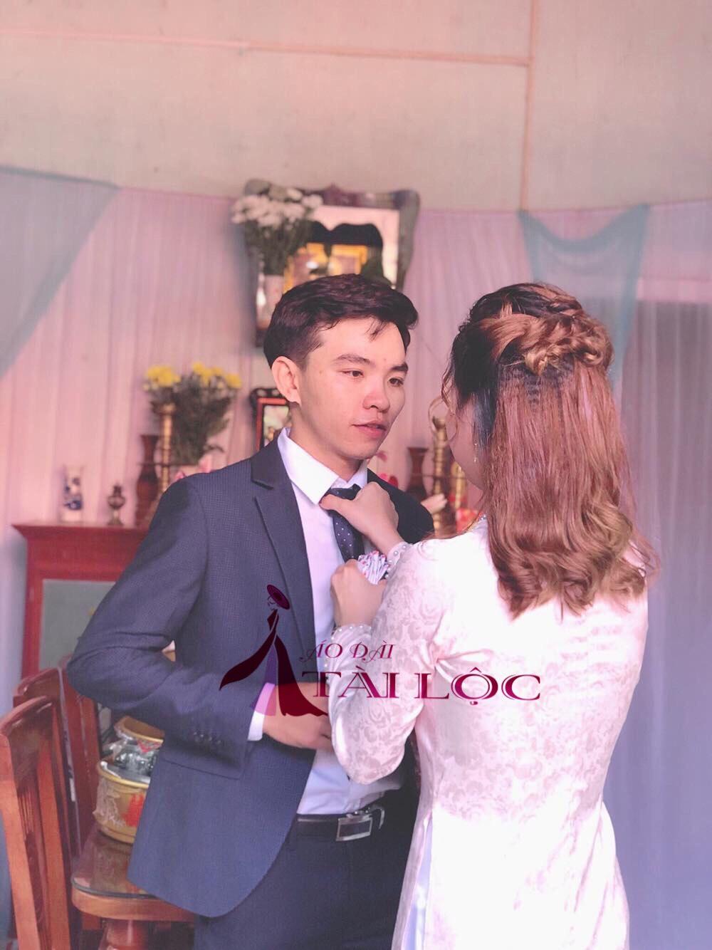 Hãy lựa chọn 1 bộ áo dài đẹp để ngày cưới thêm lung linh hơn