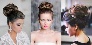 kiểu tóc đẹp cho cô dâu mặt tròn