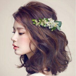 trang điểm cho cô dâu tóc ngắn