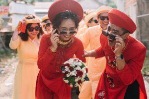 Xu hướng thuê áo dài cưới năm 2021