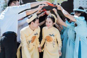 Thuê áo dài cưới đẹp giá rẻ tại Tp Hcm