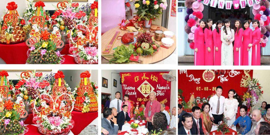 Chụp hình tiệc cưới hỏi truyền thống là gì? Giá chụp ảnh tiệc cưới hỏi truyền thống hiện nay