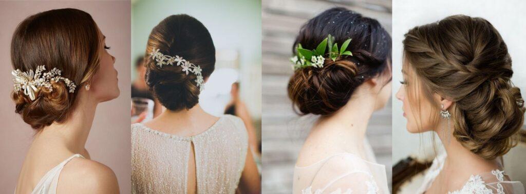 cách làm những kiểu tóc cô dâu đơn giản đẹp