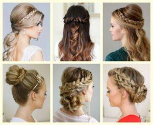 Các kiểu tóc tết đẹp cho cô dâu.
