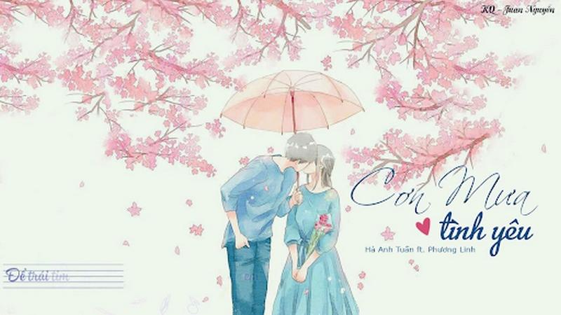 Cơn mưa tình yêu   Hà Anh Tuấn & Phương Linh