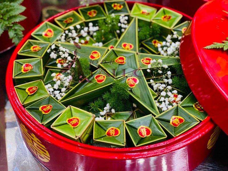 Ảnh: 65 Bánh Phu Thê Lá Dừa