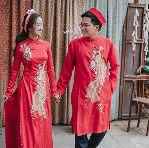 Thuê áo dài cưới TPHCM